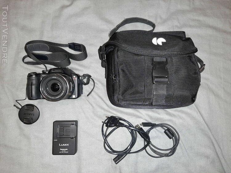 Panasonic lumix dmc-fz100 + housse + chargeur + batterie + c