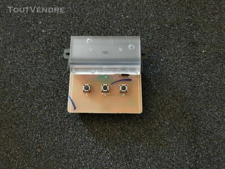 Panneau de commande bouton bk-6160 tv thomson 49ut6006 plati