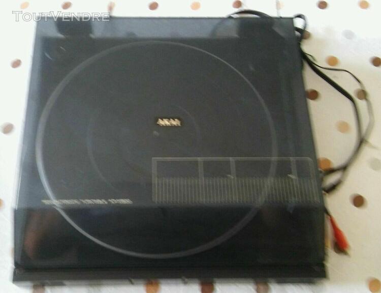 platine disque akai des années 80 semi automatique ap-m300