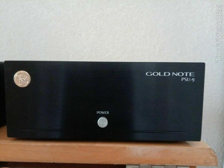preampli phono gold note ph7 + psu9 alimentation accu batter