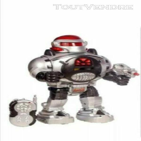 Robot jouet qui marche parle tourne avec bruitages excellen