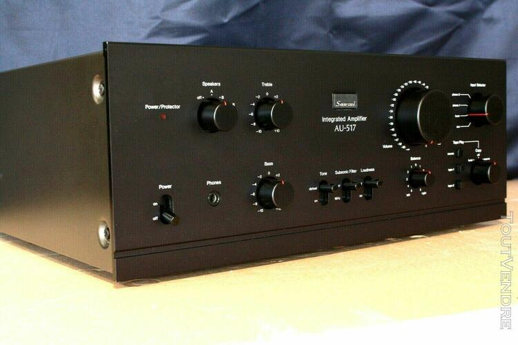 sansui au519 vintage audiophile integrated amplifier