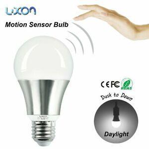 Sécurité détecteur de mouvement ampoules led 7w lumière