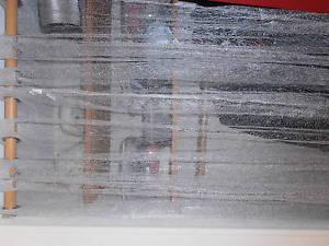 Solde tres jolis rideaux argentes transparence resilles