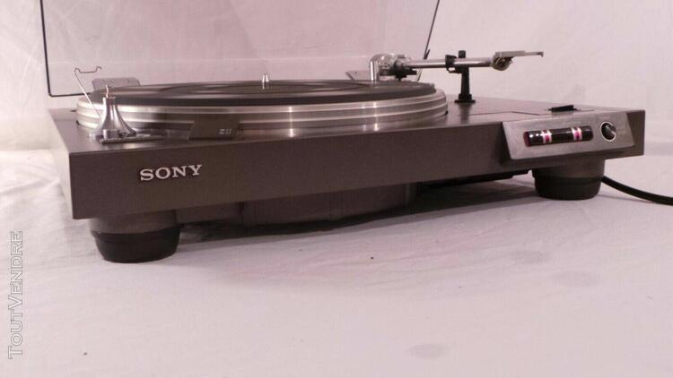 sony ps-x6 platine vinyle vintage entrainement direct socle