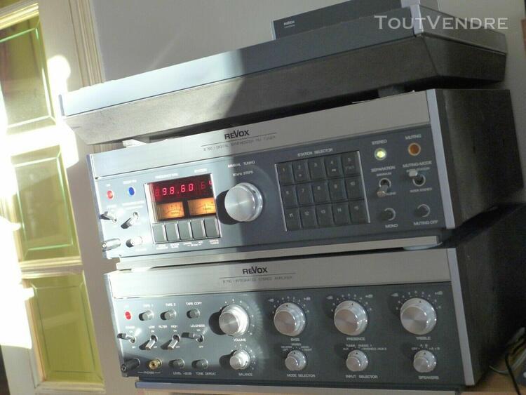 tuner vintage audiophile revox studer b 760 restauré