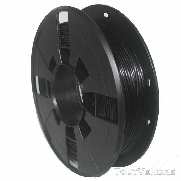 1.75mm filament de pla d'imprimante 3d noir pour creality cr