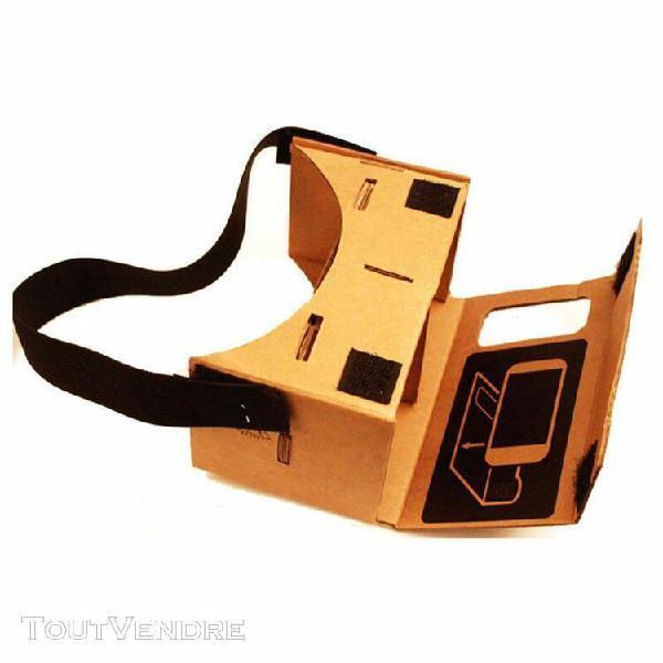 2019 new google cardboard valencia qualité vr lunettes de
