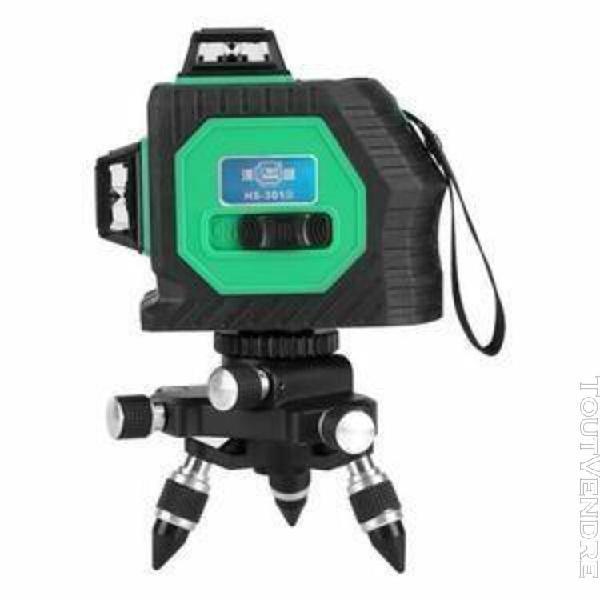 3d niveau laser vert nivellement automatique 12 lignes croix