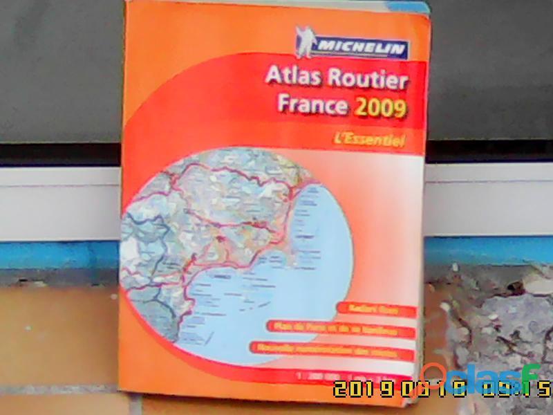 Atlas routier Michelin, année 2009.