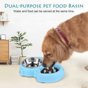 Bol pour chien double bol pour aliments pour animaux de