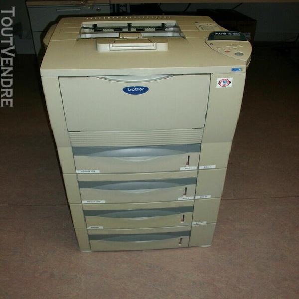 brother hl-7050 imprimante + 3 bacs inférieurs