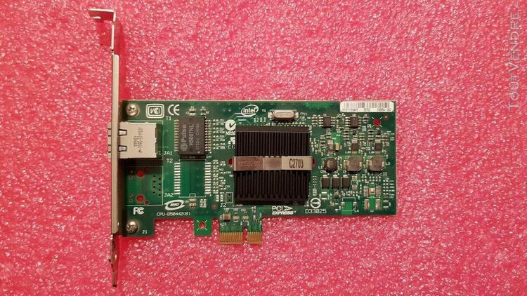 Carte réseau intel pro/1000 pt server adapter d50442-001