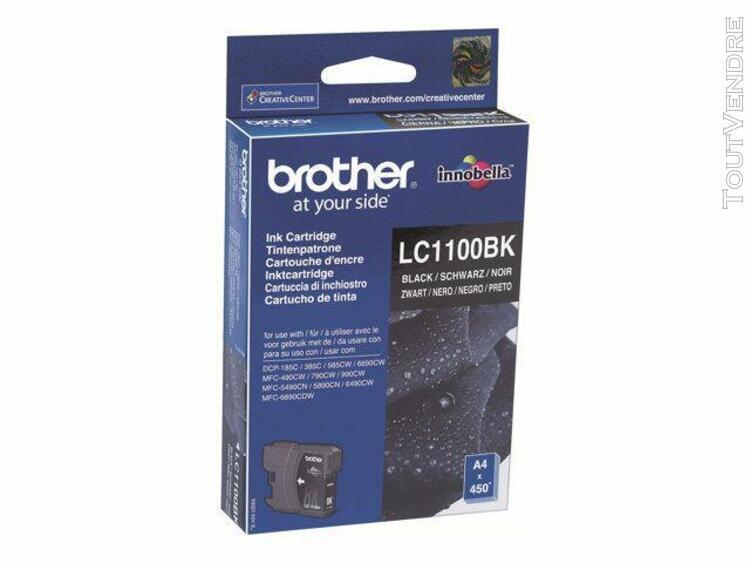Cartouche d'encre noir brother 1100bk