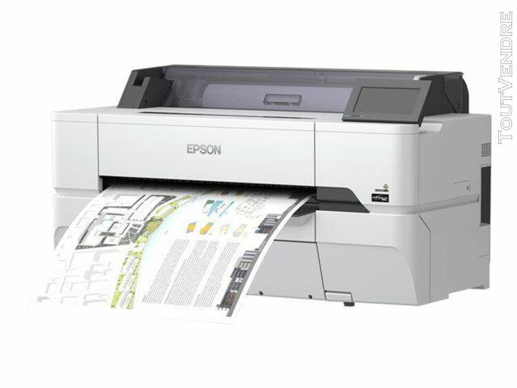 "epson surecolor sc-t3400n - 24"" imprimante grand format - co"
