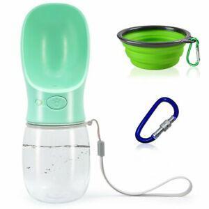 Finegood portable chien bouteille d'eau pliable avec