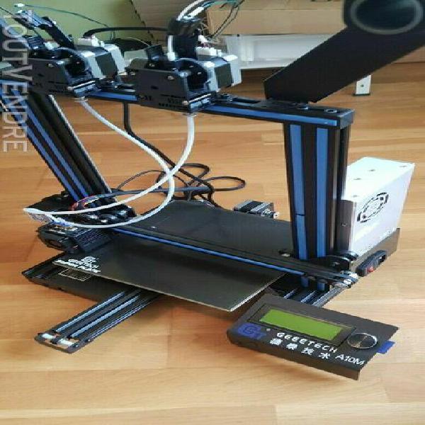 geeetech a10m imprimante 3d printer mix couleur