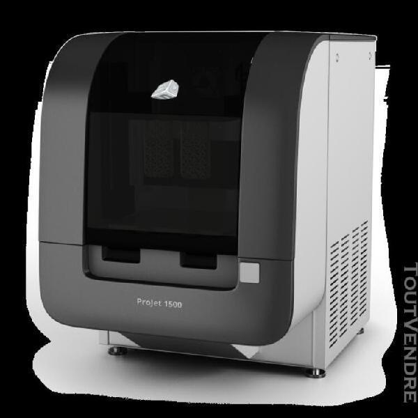 imprimante 3d professionnelle, projet 1500 de chez 3d system