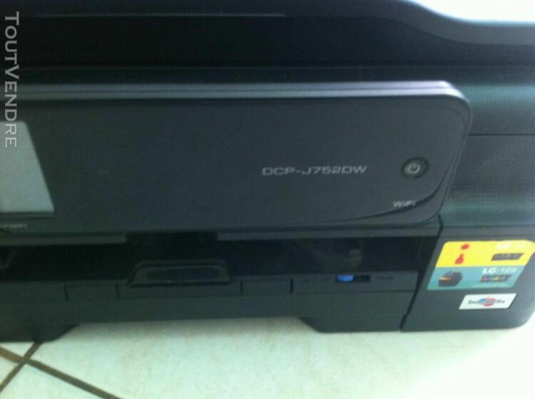 imprimante brother multifonction jet d'encre couleur wifi