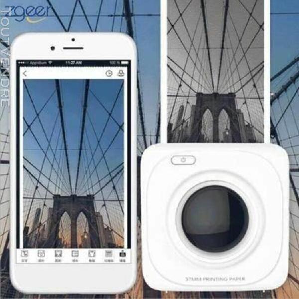 imprimante photo portable bluetooth 4.0 imprimante photo de