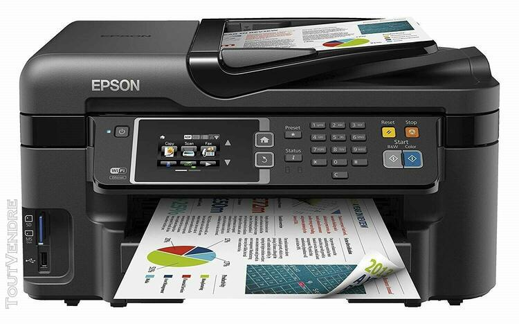 imprimante professionnelle, epson workforce wf 3620, 4 en 1