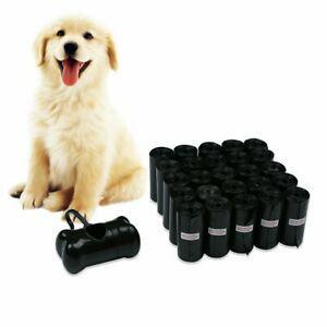 Jkc sac poubelle pour chien,noir sac de biodégradable pour