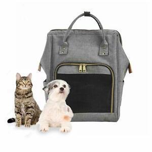 Louvra sac de transport à dos chic chat petit chien