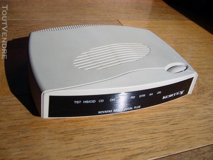 Modem fax 56k kortex novafax 56000 vocal plus interface