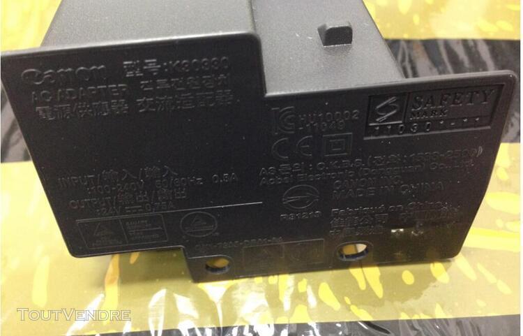 Power supply alimentation canon k30330 24 v ~ 0.75 a ac adap