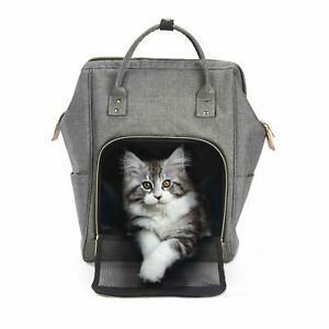 Sac à dos chat sac de transport souple respirant pour petit