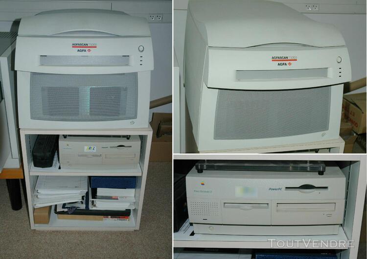 scanner professionnel agfa t5000 (avec meuble + ordinateur m