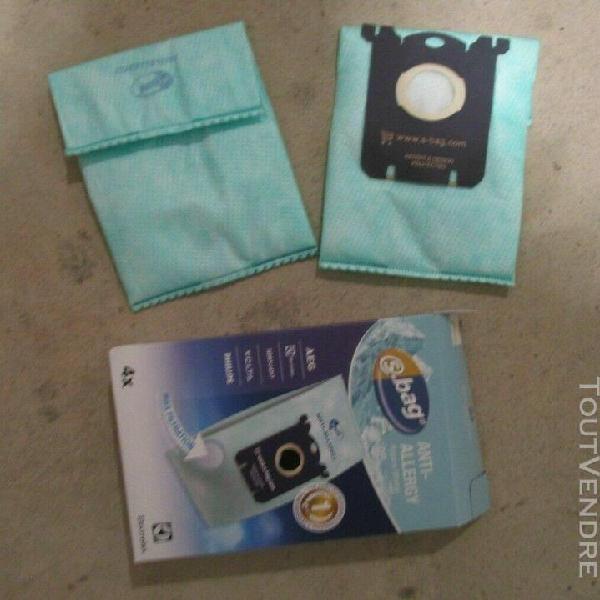2 sacs d'aspirateur neufs sbag pour electrolux, philips, aeg
