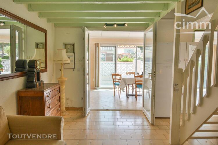 Achat - saint cyprien plage - villa d' angle - 1 etage - 3 p