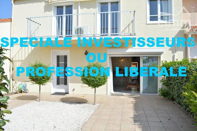 Achat - saint cyprien plage - villa traversante - 2 faces -