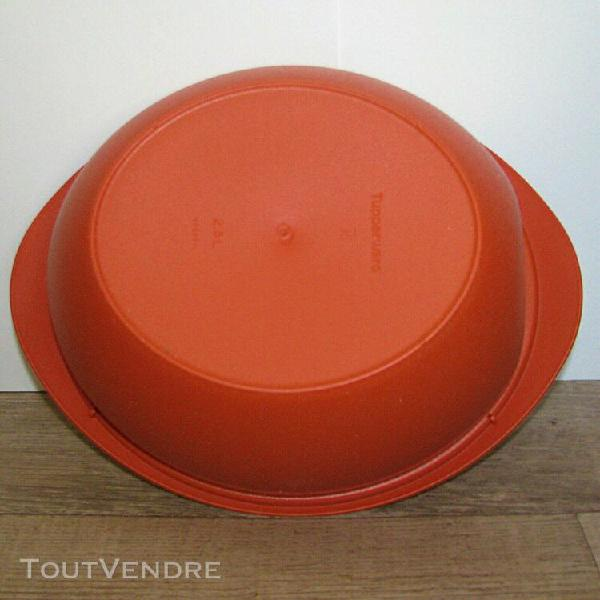 bol/soupière iso duo micro-ondes tupperware 2,5 et 3,5 l