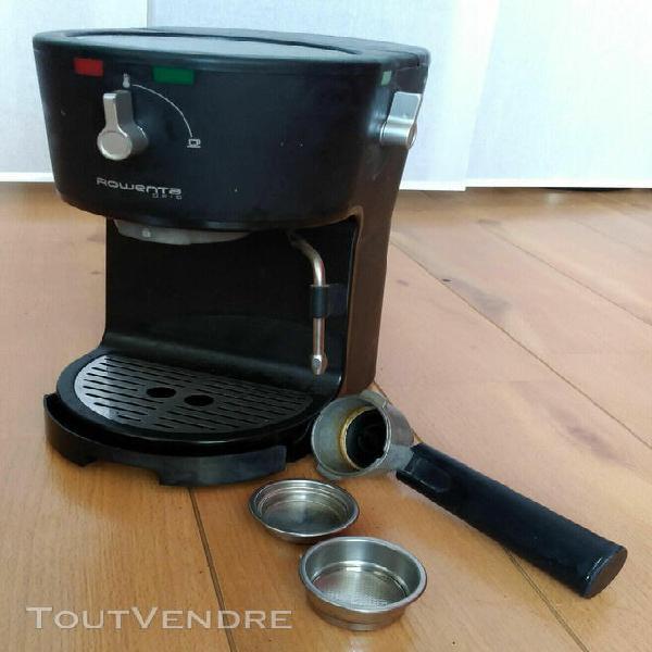 cafeière expresso rowenta es3200.10 opio noir - 1 ou 2