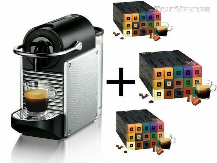 cafetière nespresso + 150 capsules marque nespresso -