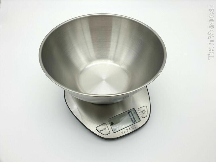 exzact - balance de cuisine - balance de précision - 5kg /