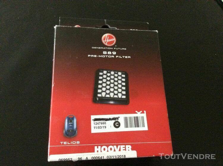 filtre aspirateur hoover s89