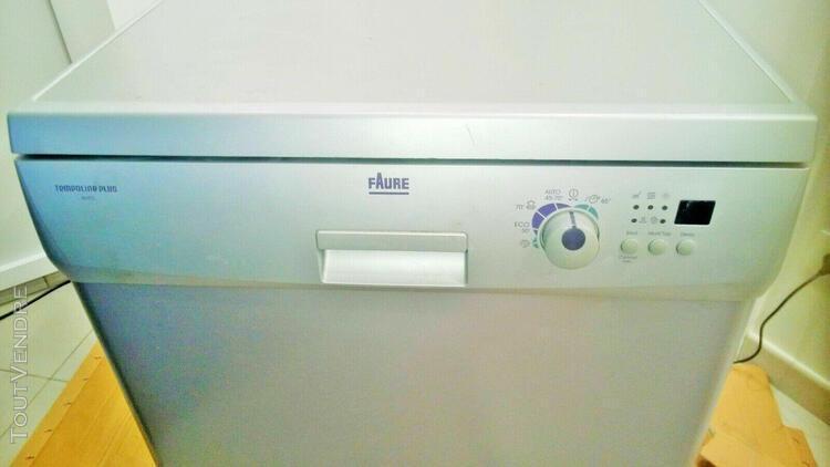 lave vaisselle faure fdf3020s pose libre 60cm. 12 couverts.