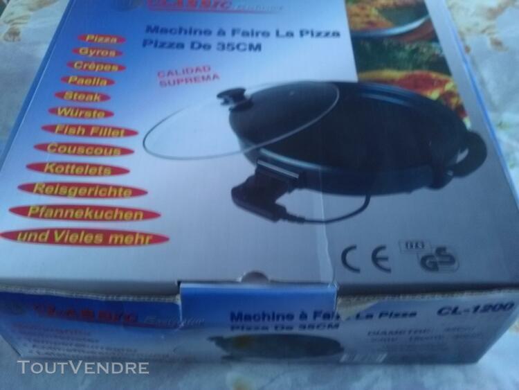 machine a faire la pizza sauteuse electrique