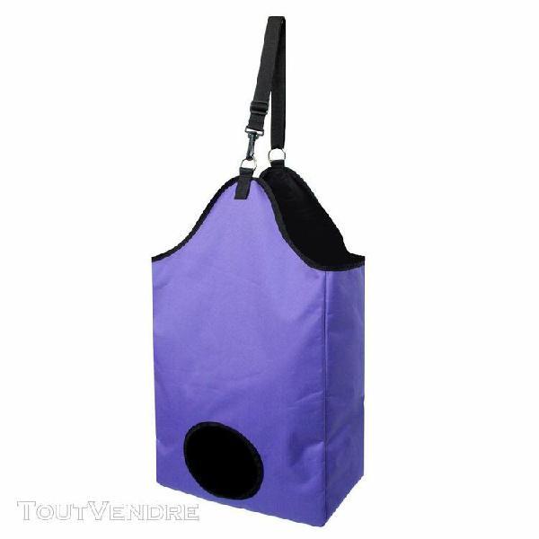 Magideal sac à foin pour cheval étanche sac fourre-tout à