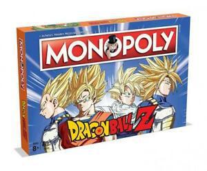 Monopoly dragon ball z - jeu de société - version