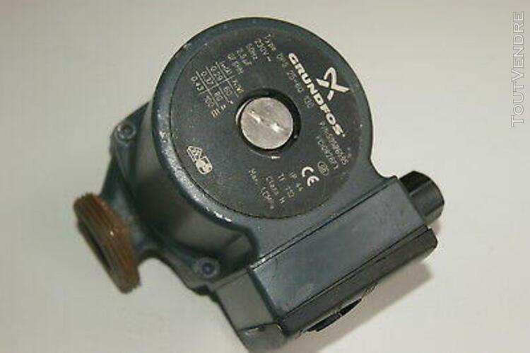 pompe de chaudiere circulateur grundfos ups 25-50/60 130 occ