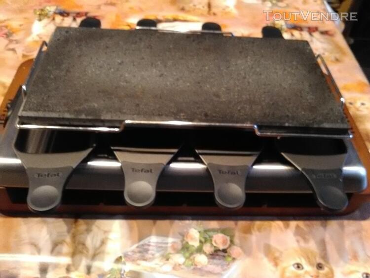 service raclette pierrade tefal 8 personnes