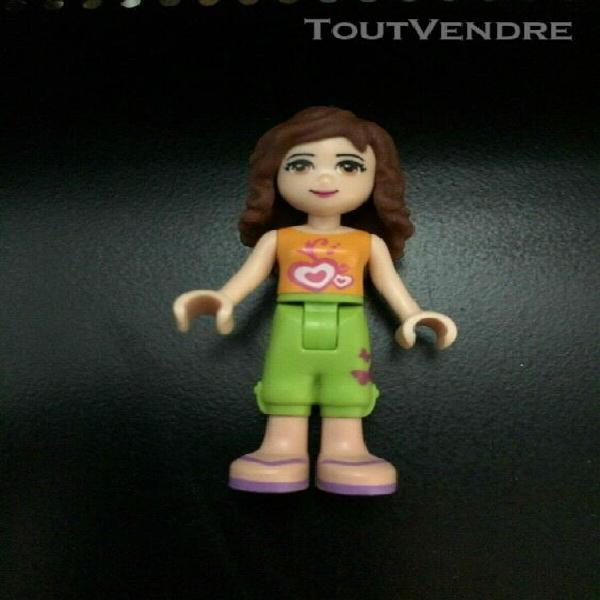 1 lego figurine minifig friends olivia / présente dans l
