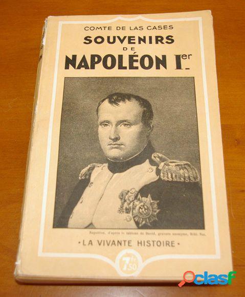 Souvenirs de napoléon 1er, comte de las cases