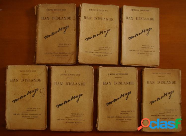 Han d'islande (7 volumes, complet), victor hugo