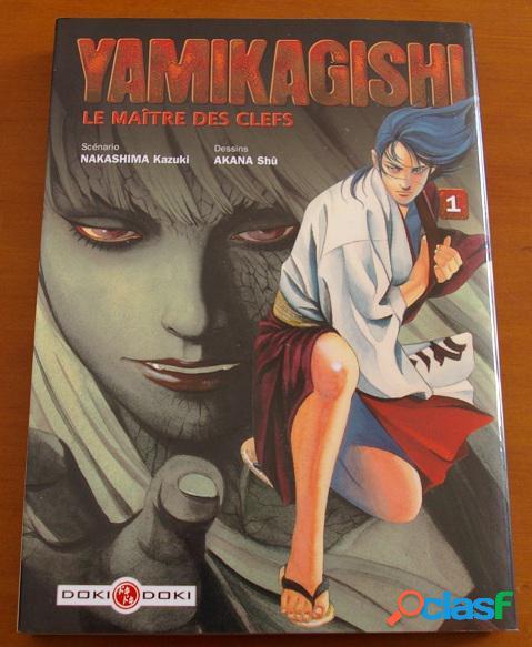 Yamikagishi le maître des clefs 1, nakashima kazuki et akana shû