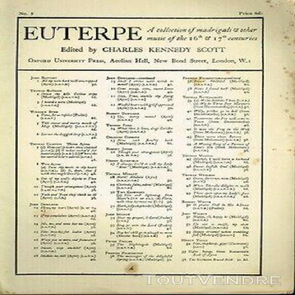 Byrd this sweet and merry month of may - euterpe - n° 5 - 1